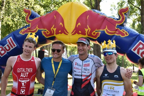 Get your crown (© Klosterneuburg Triathlon)