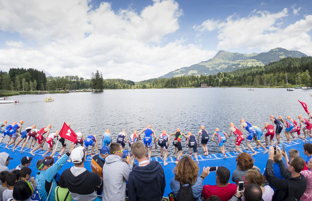 Internationale geballte Triathlonaction 2021 in Österreich