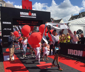 Michi Weiss holt sich 4. IM Titel (© Getty Images for Ironman)