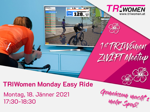 1. TRIWomen Zwift MeetUp