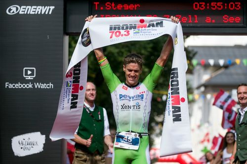 Steger Gewinner IM Zell am See-Kaprun (© Jan Hetfleisch/Getty Images for IRONMAN)