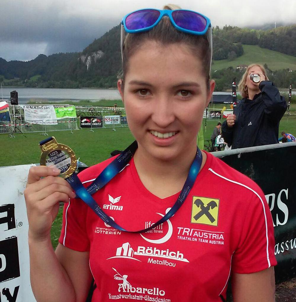 Hinteregger holt U23 Crosstriathlon Europameistertitel