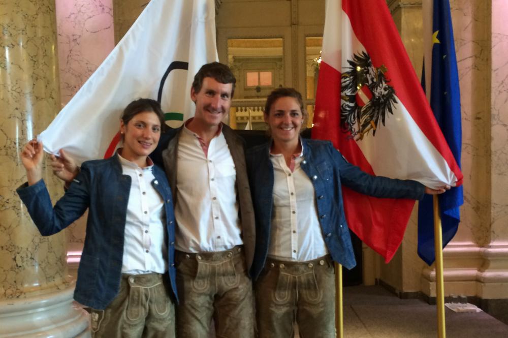 ÖTRV Team offiziell für Rio verabschiedet