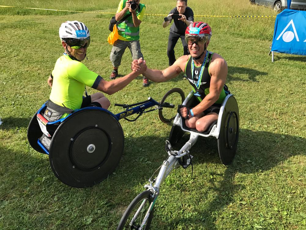 Großartiger Triathlonsport bei Österreichischen Para-Meisterschaften