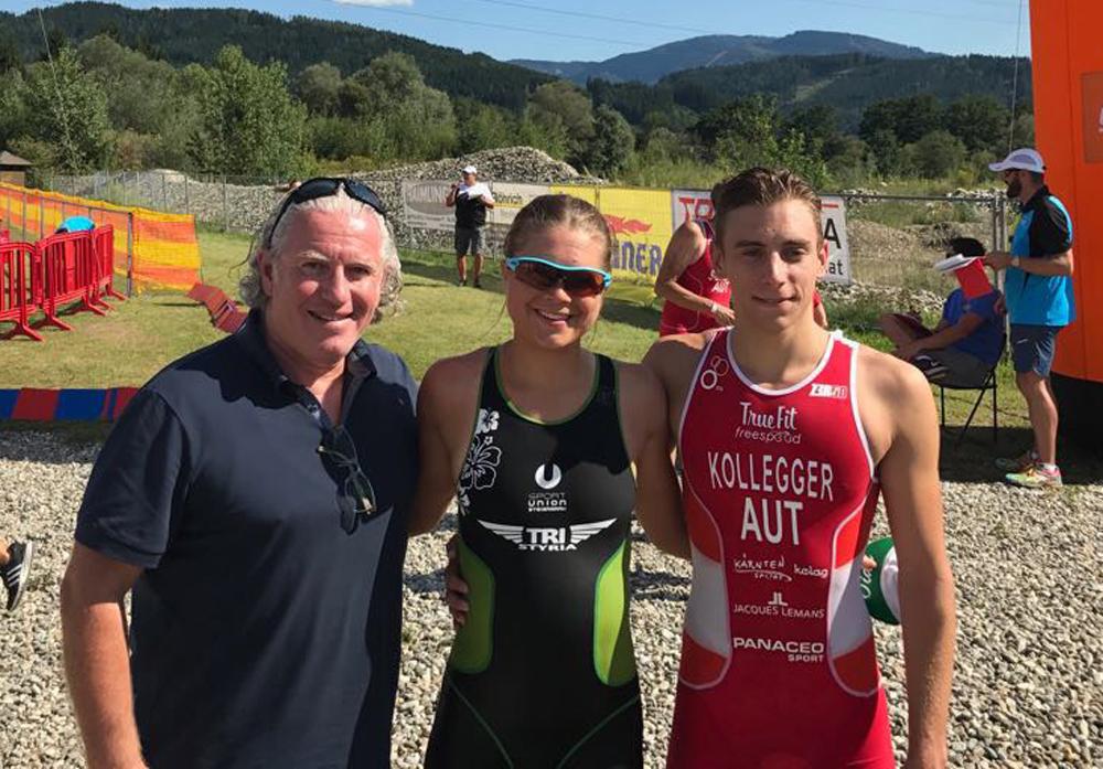 Teilnehmerrekord bei ÖM Aquathlon