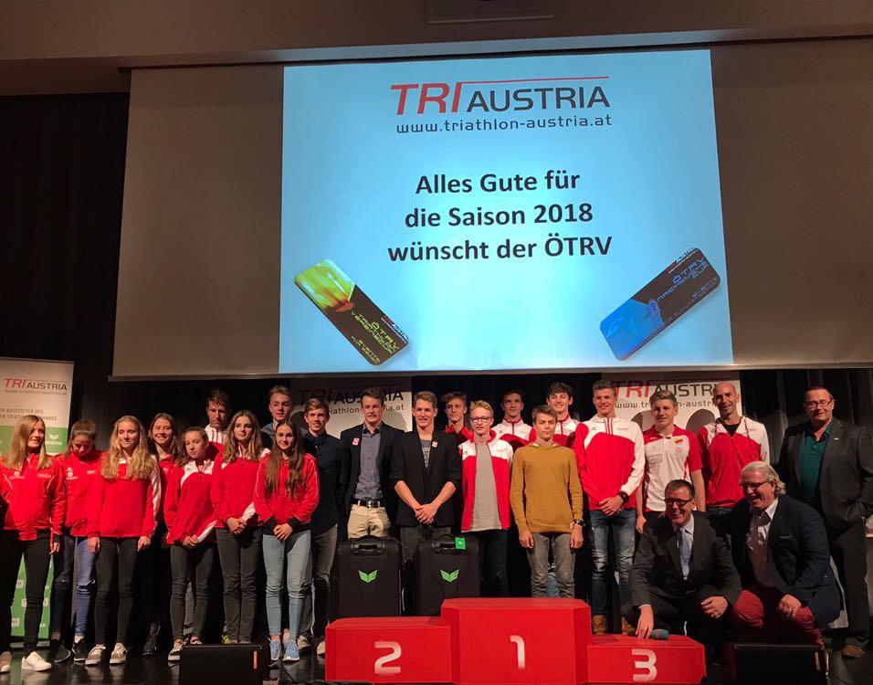 Nachwuchs und Vereine bei ÖTRV-Cupsiegerehrung geehrt