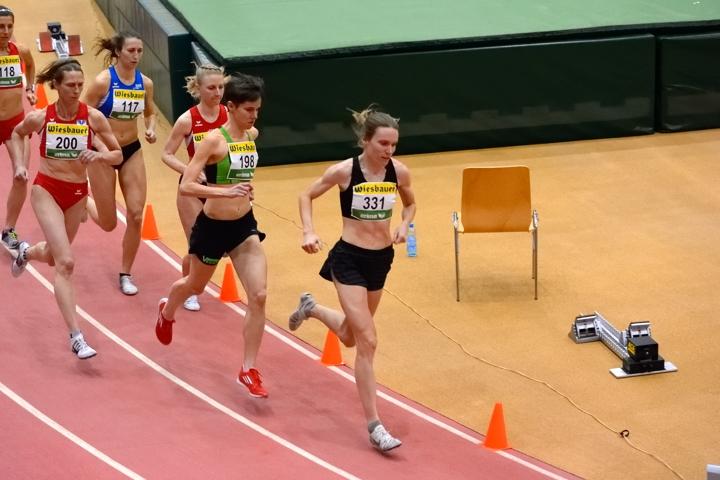 Illes holt 3.000 m-Staatsmeistertitel