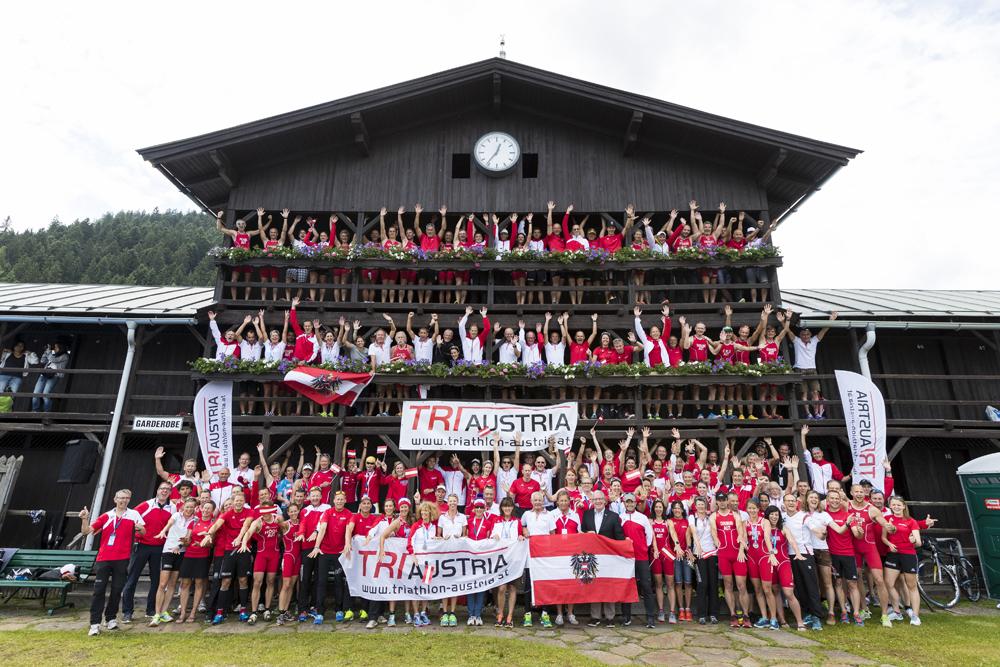 Sei für Österreich am Start