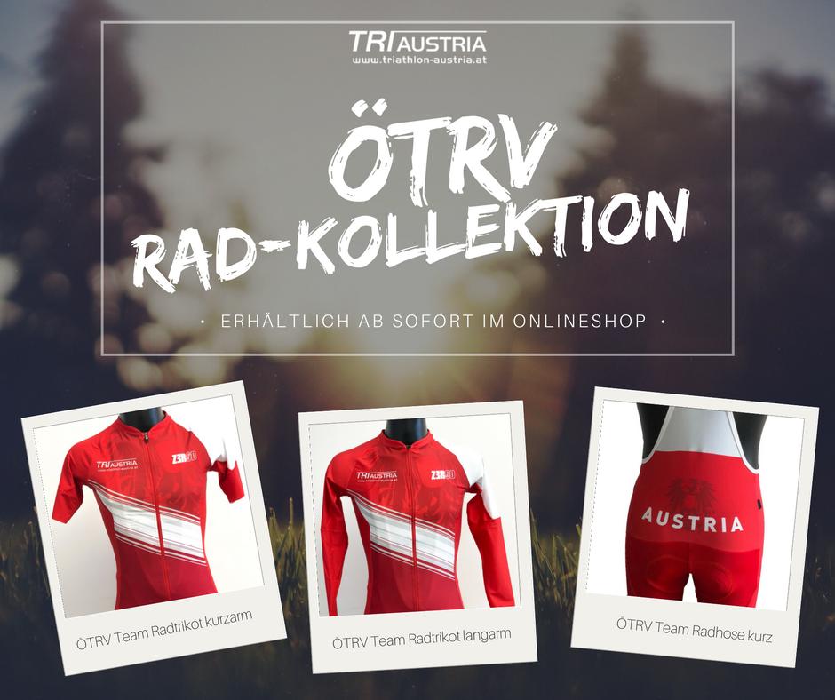 Neu im Webshop: ÖTRV Team Radbekleidung