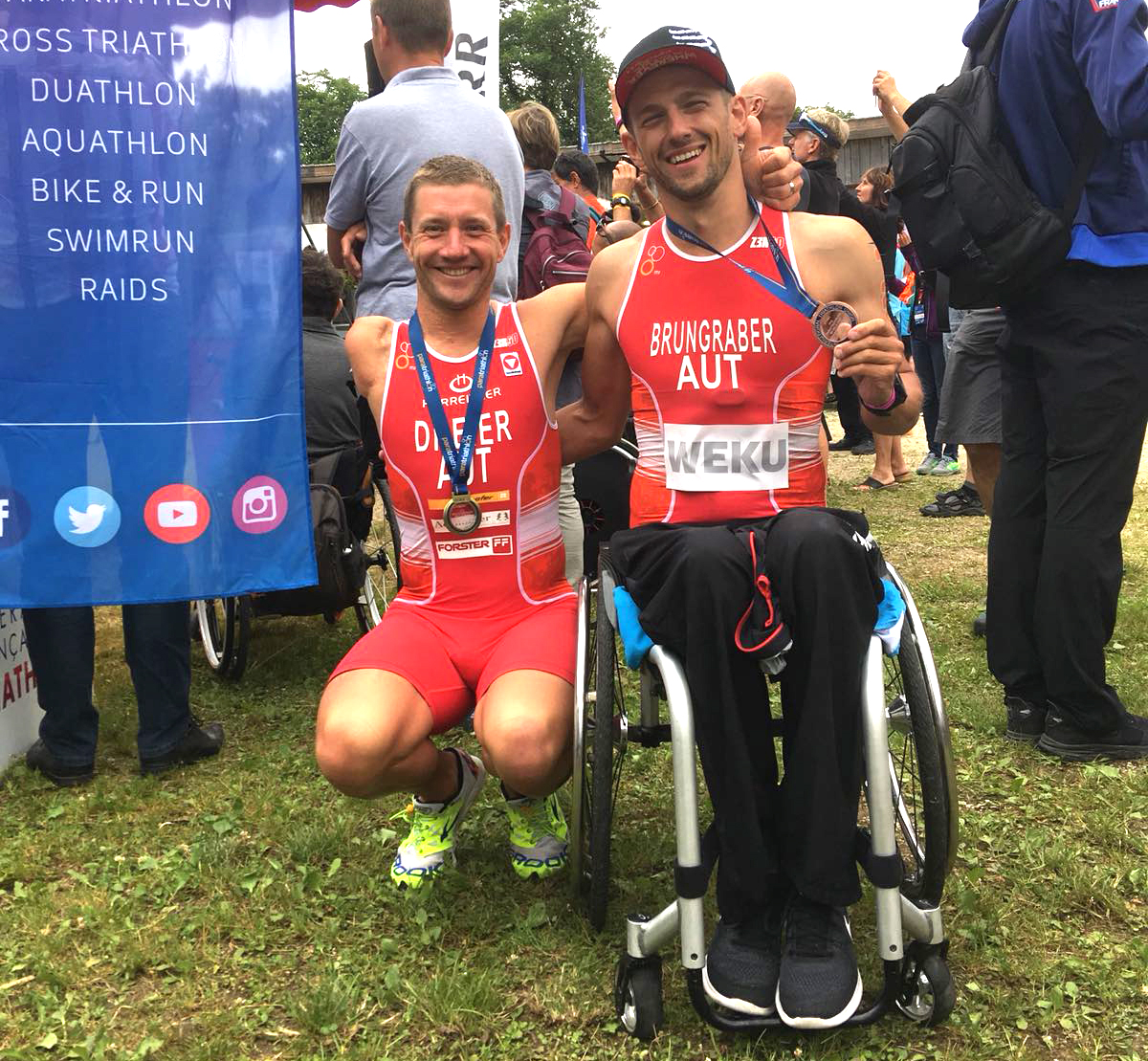 ÖTRV-Para-Athleten feiern Podestplätze
