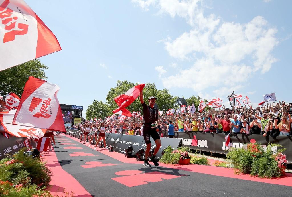 Weiss feiert Heimsieg bei IRONMAN Austria