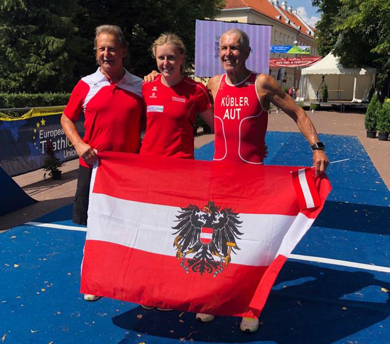 EM-Gold und -Bronze für österreichische Age Group Athleten