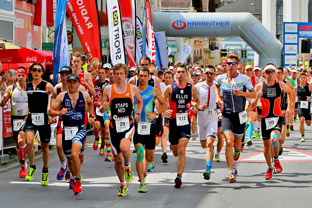 Weltelite des Duathlon beim Powerman Austria am Start