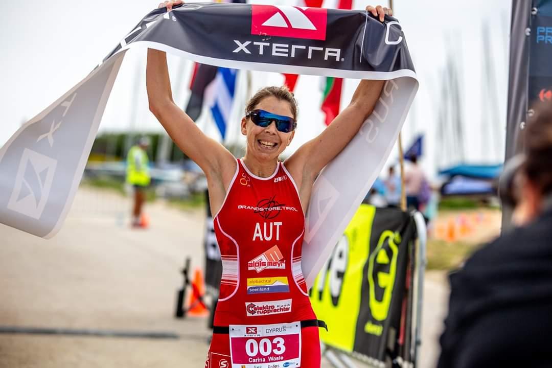 Carina Wasle siegte beim Xterra Zypern