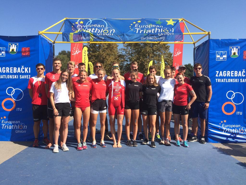Platz sechs für das Junioren Team in Zagreb