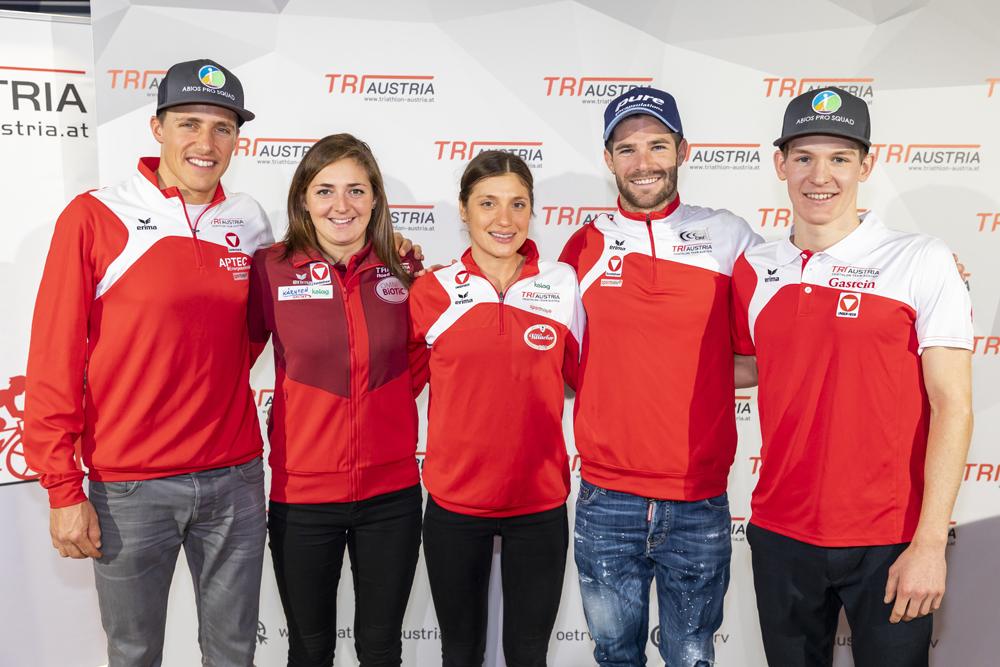 Österreichs Triathleten liegen voll auf Olympiakurs