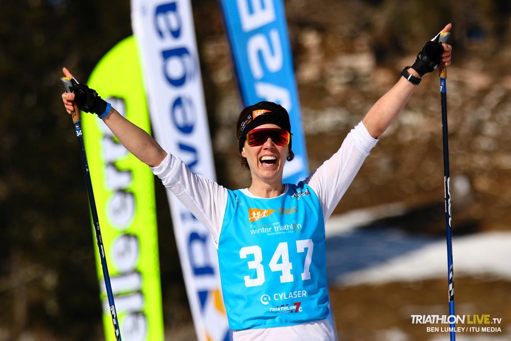Grandiose Medaillen-Ausbeute bei den AG-Wintertriathlon-Weltmeisterschaften
