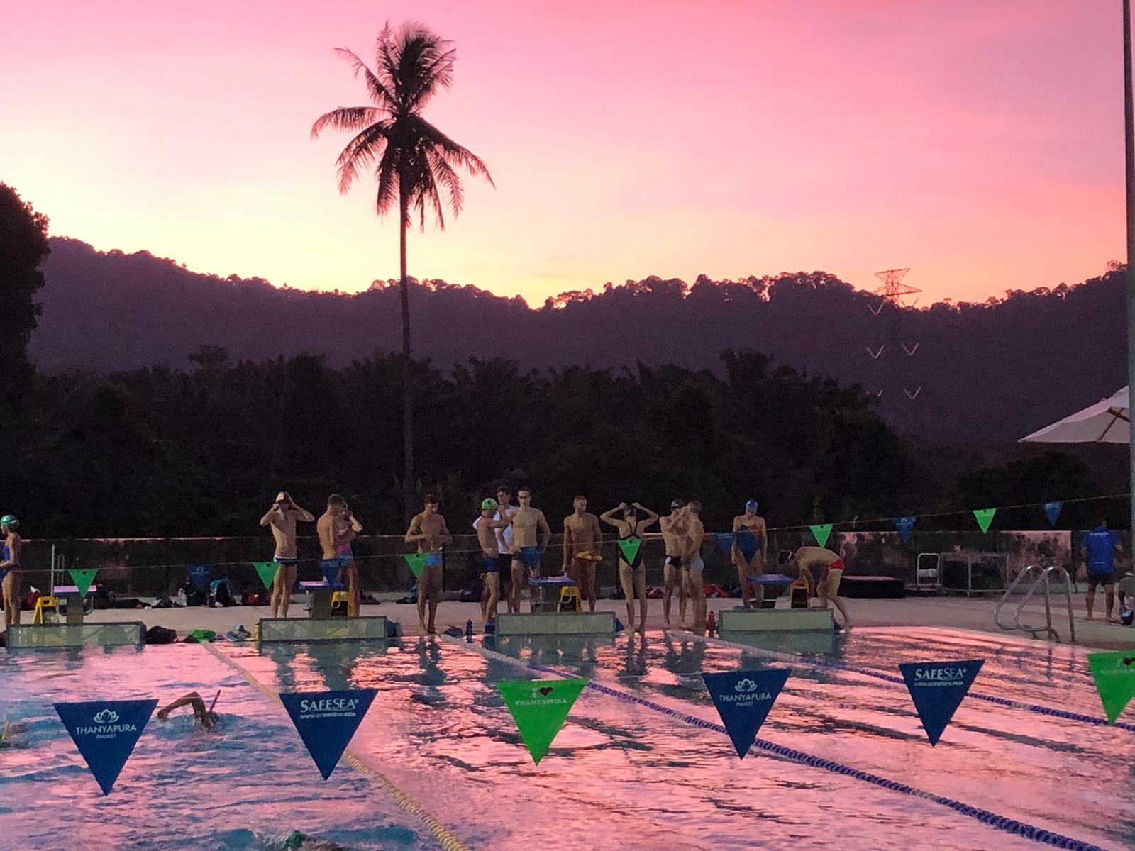 Harte Arbeit beim Klima-Kaderlehrgang in Thailand
