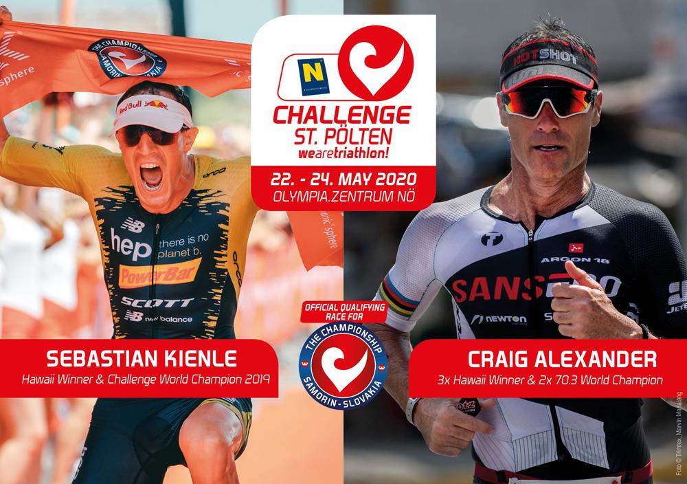 Duell der Giganten bei der Triathlon Challenge St. Pölten 2020