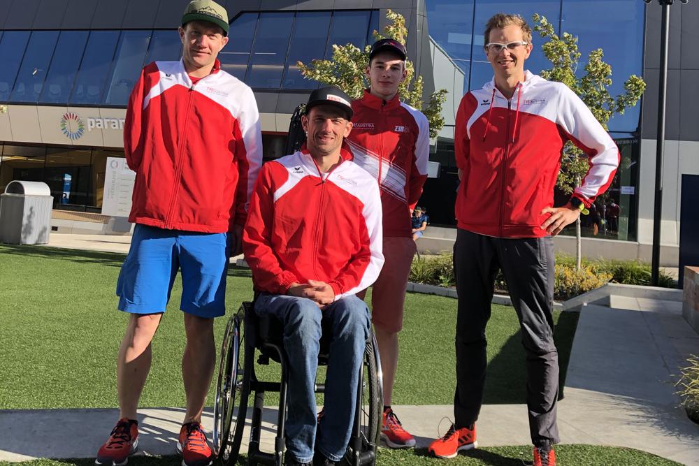 Österreichs Para-Triathleten starten ins Paralympische Jahr