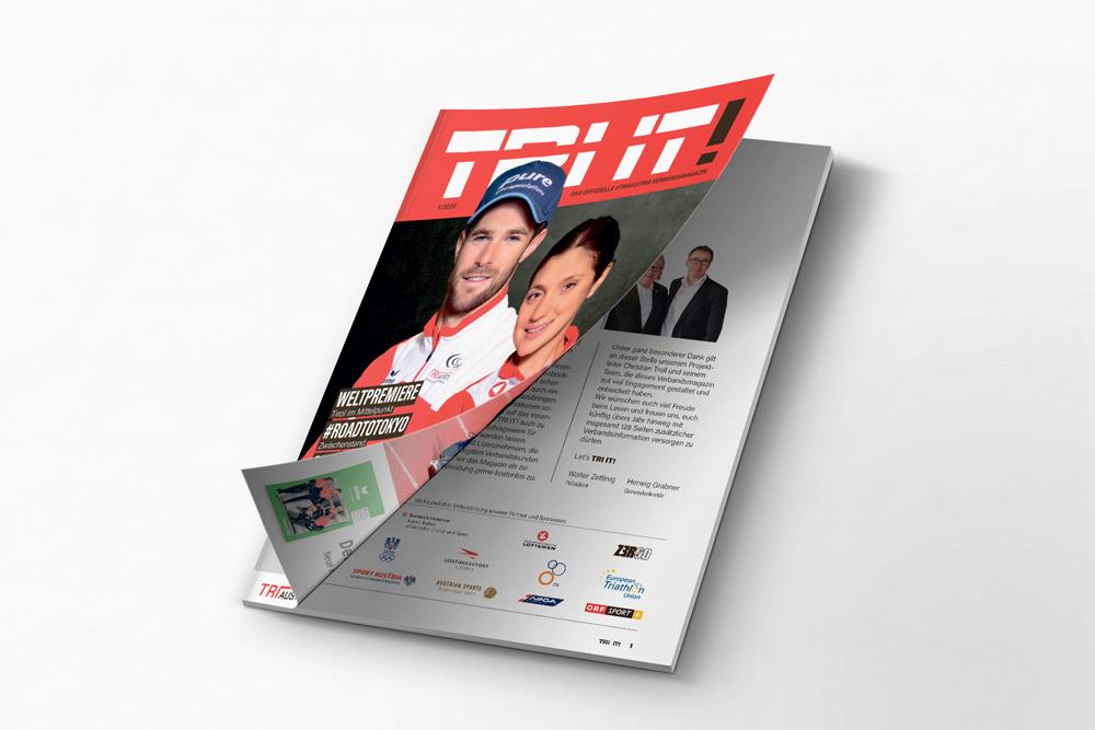 Die erste TRI IT!-Ausgabe ist online