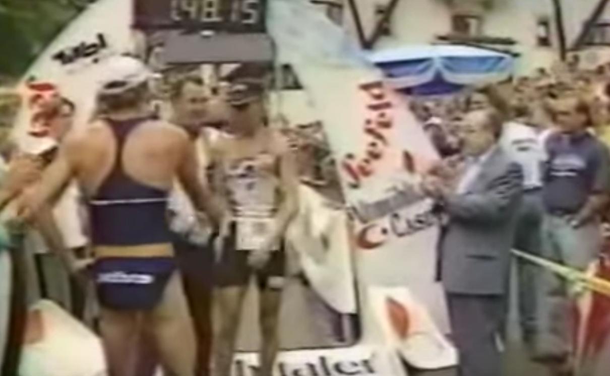 ÖTRV-History: Österreichs erster Triathlon-Weltcup heute vor 27 Jahren