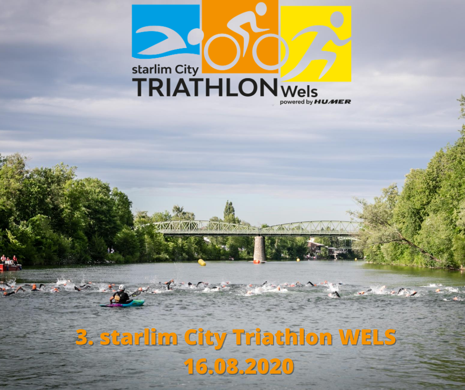 Anmeldeportal für starlim City Triathlon Wels geöffnet