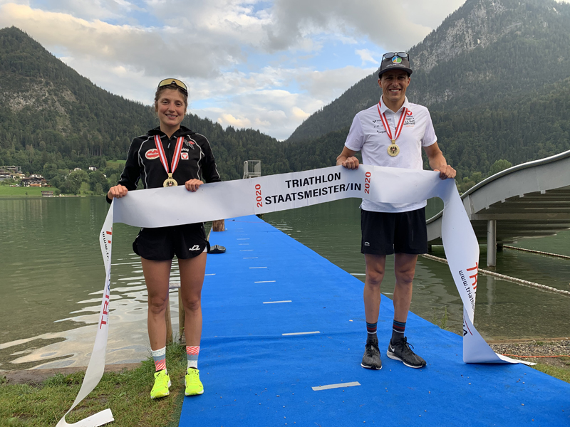 Perterer und Hollaus holen Staatsmeistertitel auf der Olympischen Distanz