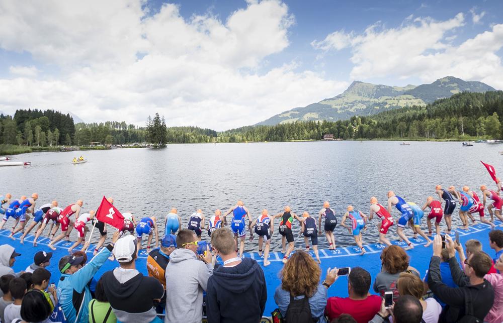 Internationale geballte Triathlonaction 2021 in Österreich