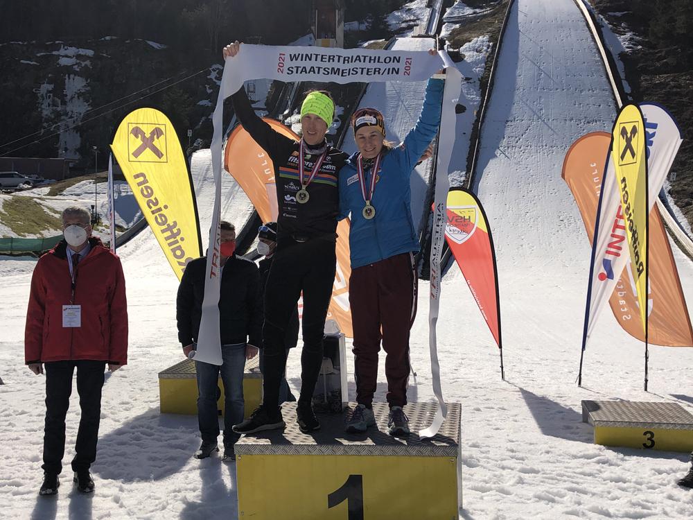 Slavinec und Gehbauer holen sich ersten nationalen Titel 2021