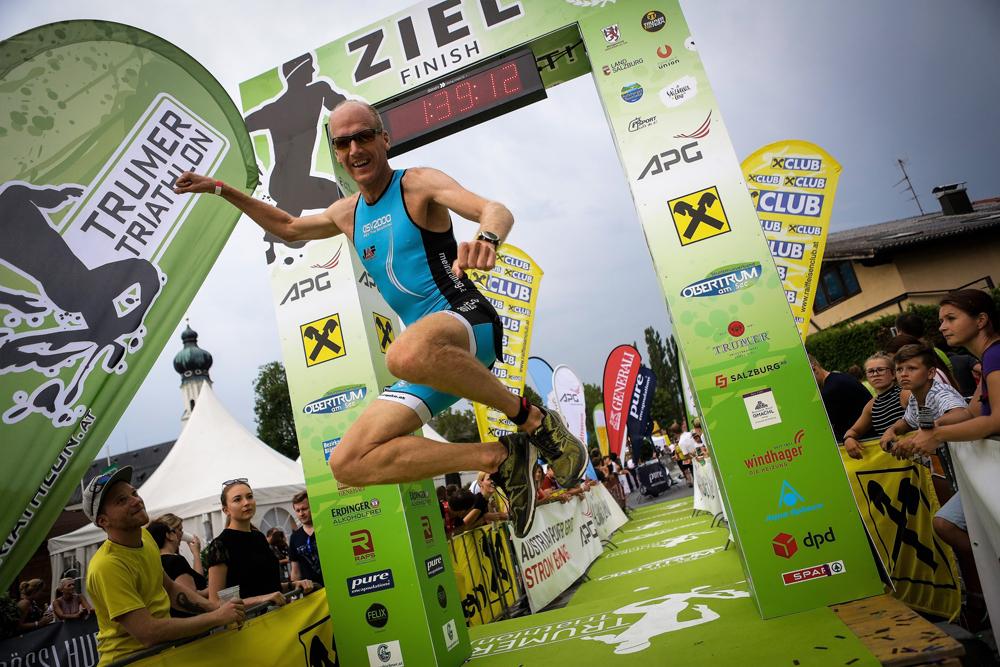 Volle Kraft voraus beim Trumer Triathlon