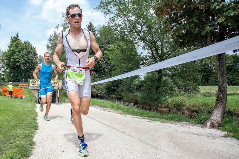 Mitteldistanz-Staatsmeisterschaften bei Trumer Triathlon