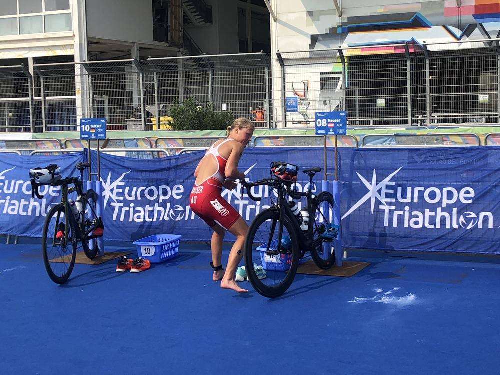 Hauser belegt bei EM 15. Platz